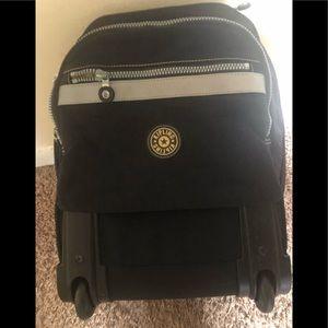 Kipling wheel backpack